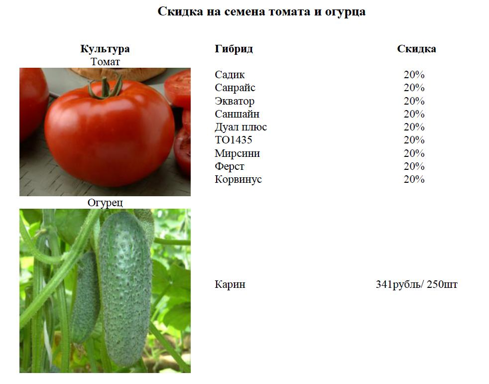 Семена Партнер Интернет Магазин 2021 Агрофирма
